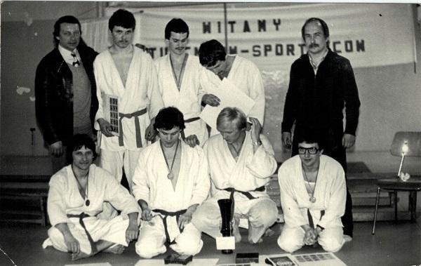 pierwsza grupa Edwarda Faciejewa - Klub uczelniany WSI