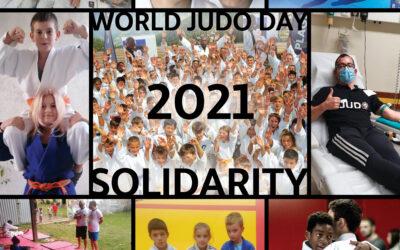 """Światowy Dzień Judo """"SOLIDARITY"""" –  28.10.2021"""